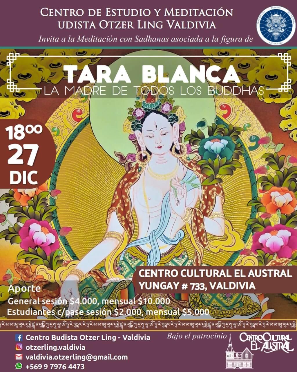 Tara Blanca; La Madre de todos los Buddhas