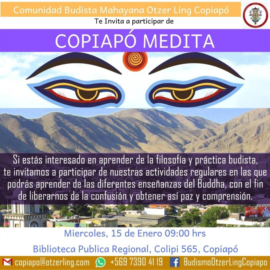 Taller Copiapó  Medita