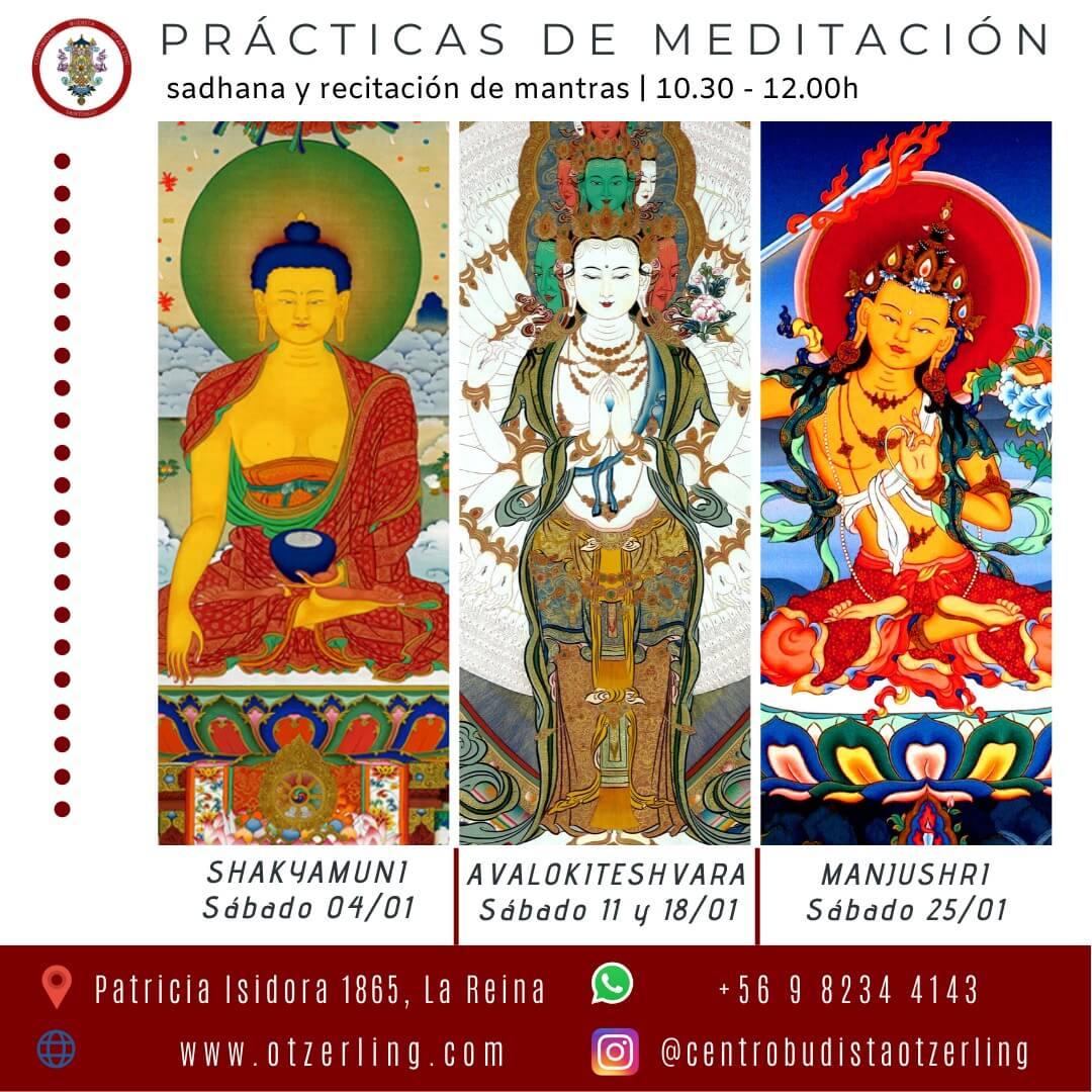 Practica de Meditacion; Sadhana y Recitacion de Mantras