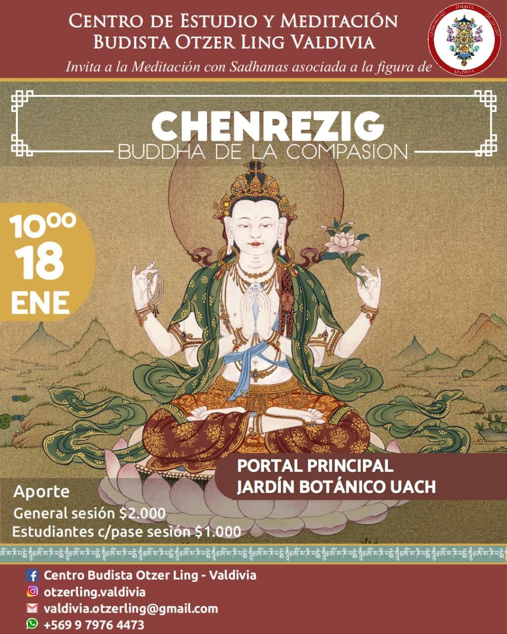 Chenrezig; Buddha de la Compasion