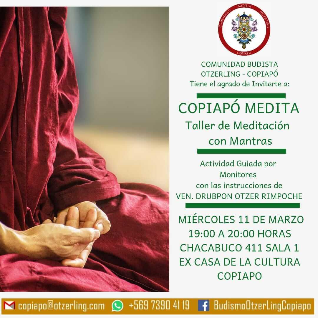 COPIAPO MEDITA: «Taller de Meditación con Mantras»