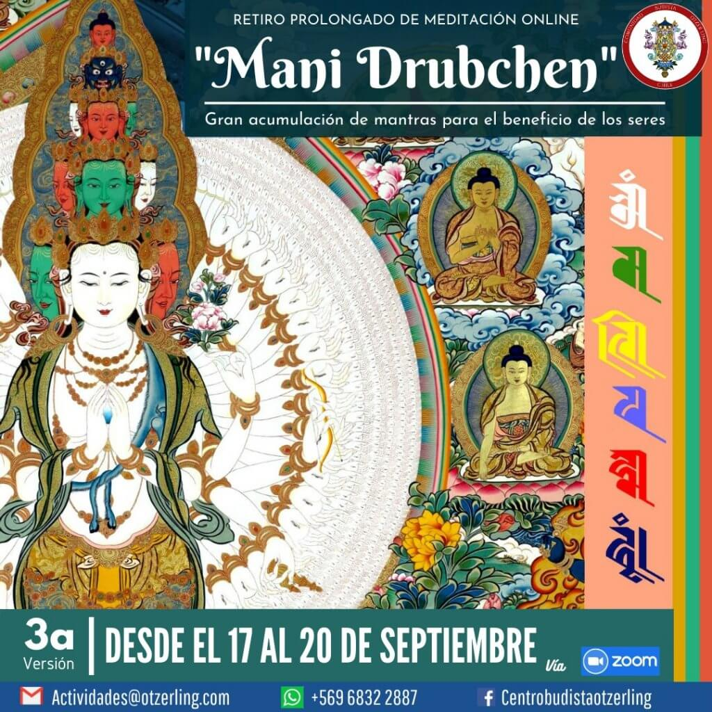 Retiro Prolongado de Meditación Online – Mani Drubchen