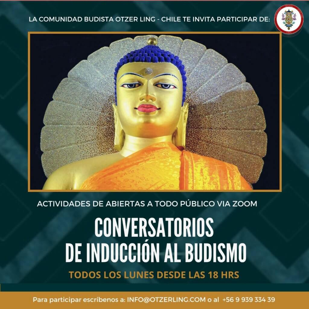 Conversatorios de Inducción al Budismo